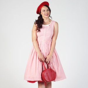 Tatyana Samantha Pink Bow Dress